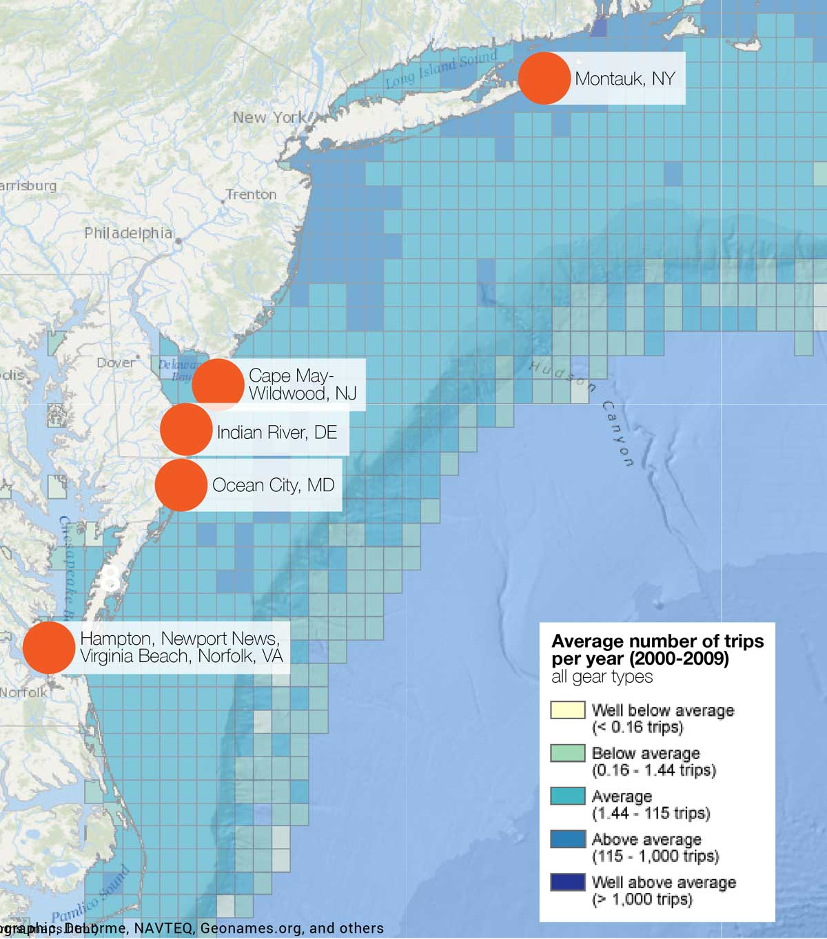 Commercial and recreational fishing mid atlantic for What is commercial fishing