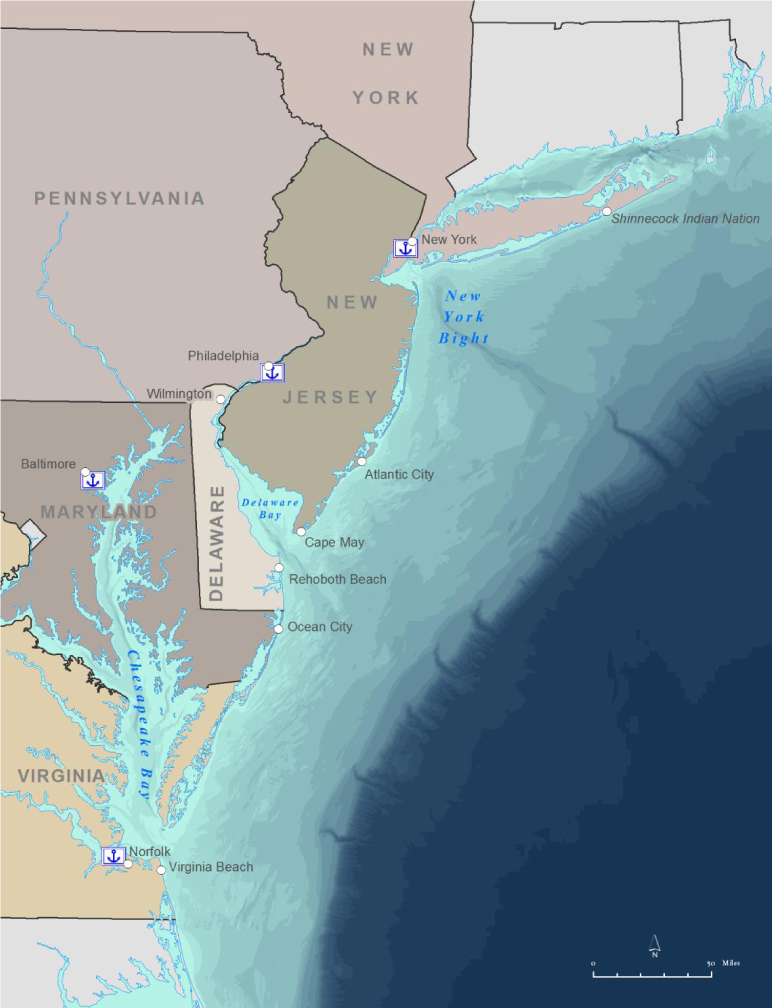 Mid-Atlantic Regional Ocean Planning Area